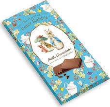 <b>Шоколад The World of</b> Peter Rabbit Bar Milk Bunny молочный, 100 г