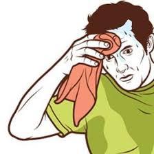 Sweating Towel Guy | Know Your Meme via Relatably.com