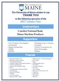 career fair career center university of maine 2017 career fair participants thank you to our