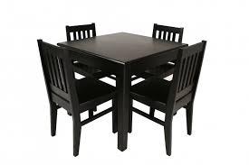 elegant square black mahogany dining table: simple square dining table with  to  seats completing dining