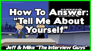 tell me about yourself good answer relies on avoiding this 1 tell me about yourself good answer relies on avoiding this 1 job interview trap