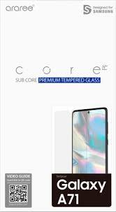<b>Стекло защитное Araree Samsung</b> Galaxy A71 прозрачное (GP ...