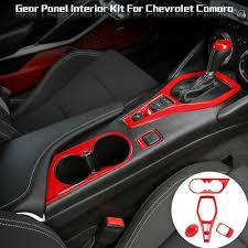 Carbon Fiber <b>ABS Water Cup</b> Holder Panel Cover Trim For ...