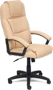<b>Офисное кресло Tetchair BERGAMO</b> (кож/зам, Бежевый, PU C 36 ...