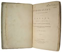 tumblr nesxxxrtrdtowo jpg the federalist is published on this day in 1787 the first number of the federalist was