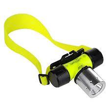 <b>Diving Headlamp Headlight</b> Underwater Flashlight Torch Light ...