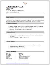 10000 cv and resume samples with free download graduate resume format fresher resume format for mca