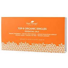 Plant Therapy Top 6 Organic Essential Oil Set ... - Amazon.com