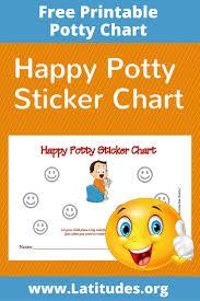 potty training sticker chart happy boy acn latitudes happy potty sticker chart