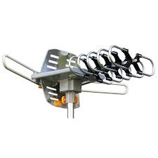 Amplified di gital HDTV Outdoor Antenna with Motorized <b>360</b> ...