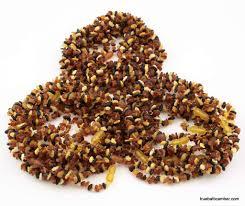 <b>Raw</b> CHIPS <b>Baltic amber teething</b> Baby necklaces