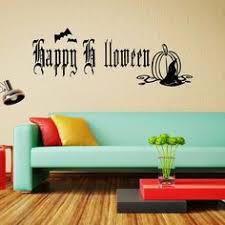 Halloween Black Ghost Party <b>Blood Palm</b> Detachable Wall Sticker ...