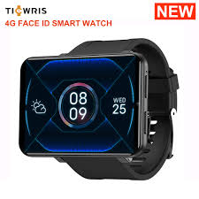 <b>Ticwris Max 4G Smart</b> Watch Phone Face ID Smartwatch 3GB ...
