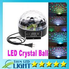 Dhl <b>Mini</b> Digital Led <b>Rgb</b> Crystal Magic Ball Effect Light <b>Dmx512</b> ...