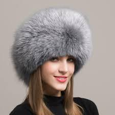 Clothing, Shoes & Accessories <b>100</b>% <b>Real Genuine Fox</b> Fur Hat ...