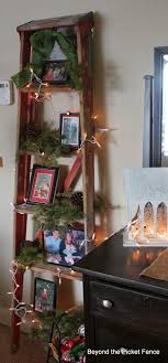 Beyond The Picket Fence: My Junky <b>Red Ladder</b> | <b>Christmas</b> booth ...
