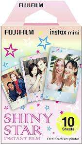 instax <b>Shiny</b> Star Mini Film, 10 Shot Pack: Amazon.co.uk: Camera ...