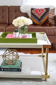 Styling a <b>Coffee Table</b>: <b>3</b> Ways - A Beautiful Mess