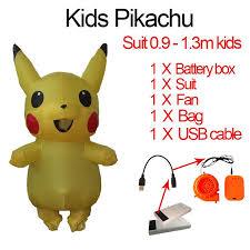 <b>Men Adult Inflatable Pikachu</b> Costume Anime Cosplay Carnival ...