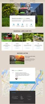 lawn maintenance website template lawn care website template