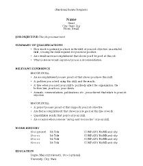 sample hybrid resume sample combination resume template pdf format hybrid resume template free