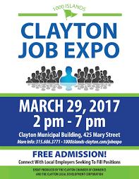 islands clayton job expo thousand islands 1000 islands clayton job expo