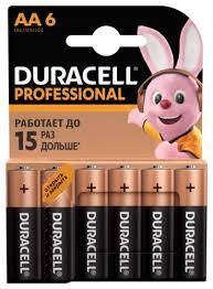 Купить <b>батарейку Duracell LR6</b>-<b>6BL</b> Professional по выгодной ...