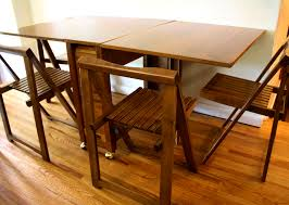 dining table with wheels: apartmentsadorable mid century modern gateleg dining table and folding chairs drop leaf argos mcm fascinating drop