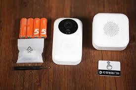 Дверной <b>видеоглазок</b>: <b>Xiaomi smart</b> video doorbell
