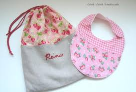Handmade gift for a baby girl - chick chick sewing
