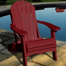 Image Of Recycled Plastic Modern Adirondack Chairs