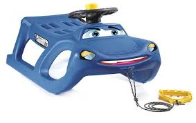 <b>Санки Prosperplast Zigi-Zet</b> Steering Blue: купить в интернет ...