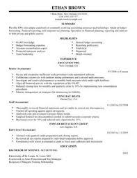 best accountant resume example   livecareeraccountant resume example