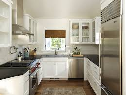 design compact kitchen ideas small layout: view in gallery a small kitchen with a spacious feel design ideas for small kitchens