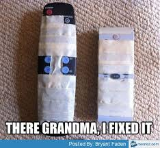 Fixing the remote for grandma | Memes.com via Relatably.com