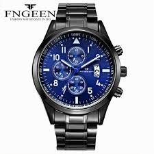 <b>Fngeen Top Brand Luxury</b> MenS Watches Famous Quartz Gift For ...