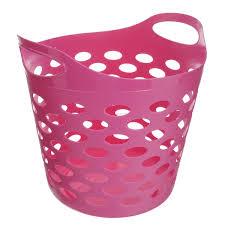 """<b>Корзина</b> универсальная """"<b>Gensini</b>"""", цвет: розовый, 32 л"""