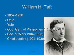 「President William Taft (1857-1930) for a second term.」の画像検索結果