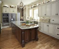 kitchen cabinets home office transitional: chocolate leather sofa kitchen traditional with none