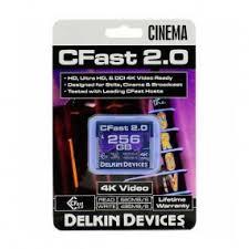 <b>Карта памяти</b> Delkin Devices Cinema CFast 2.0 <b>256GB</b> 560X 4K ...