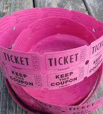 white or hot pink two part tickets girl birthday party 128270zoom