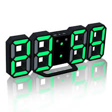 Special Offers clock wall <b>led 3d</b> brands and get free shipping - a976