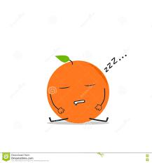 fall a sleep orange simple clean cartoon illustration stock vector fall a sleep orange simple clean cartoon illustration