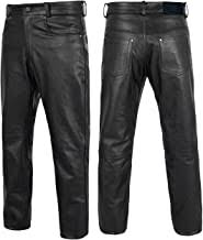 Mens Black Leather Pants - Amazon.com