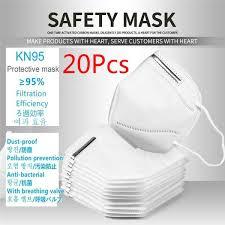 KN95 protective mask (<b>20Pcs</b>) <b>KN95 mask</b> | Wish
