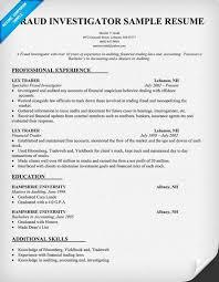 fraud investigator resume sample  resumecompanion com    resume    fraud investigator resume sample  resumecompanion com