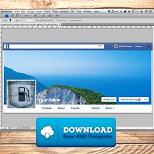 facebook cover template tutorial pocket fuel
