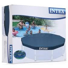 <b>Тент</b> на бассейн <b>INTEX METAL FRAME</b> 28032, 457х41см ...