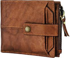 SPIFFY <b>Men Casual</b> Brown <b>Genuine Leather</b> Wallet Brown - Price in ...