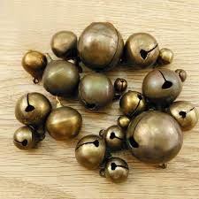 <b>50pcs</b>/<b>lot</b> Antique Bronze 6mm <b>8mm</b> 10mm 12mm Jingle Small Bells ...
